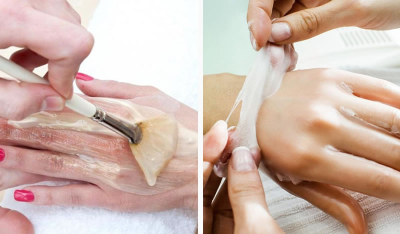 Paraffin Wax Manicure and Pedicure